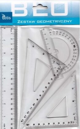 ZESTAW GEOMETRYCZNY 20cm BL001-K TETIS