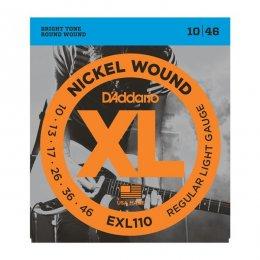 D'Addario EXL110 10-46 struny do gitary elektrycznej