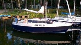 Jacht żaglowy ALPA 21 + laweta