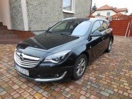 Opel Insignia 2014 prywatnie Full opcja, czarne skóry, NAVI, bezwyp.