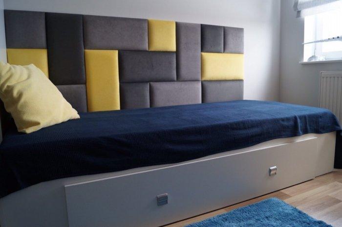 Panele Tapicerowane Wezgłowie łóżko 160x80 Softwall Miękka ściana