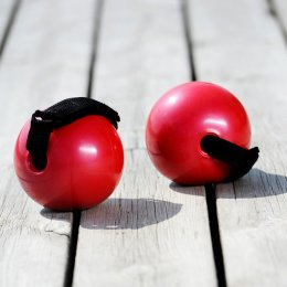 Piłeczki z uchwytami SISSEL Fitness Toning Ball (1000 gr) zestaw 2 szt