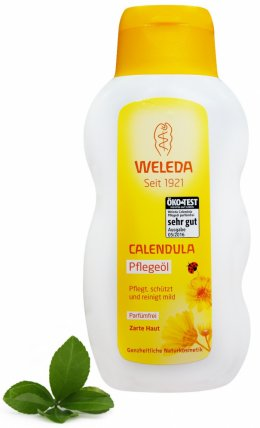 Oliwka nagietkowa dla dzieci i niemowląt 200 ml Weleda - bezzapachowa