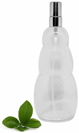 Szklana butelka z rozpylaczem Kwiat życia 70ml