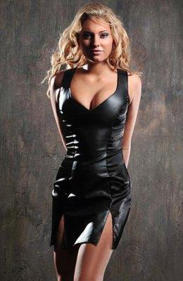 Carmen Sukienka czarna r.S