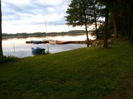 Caloroczny dom bezposrednio nad jeziorem!!!