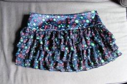 Krótka spódnica spódniczka mini HOUSE wyjątkowa falbanki