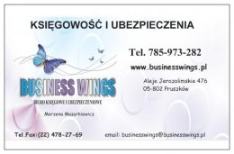 Kompleksowe usługi księgowe, ubezpieczenia