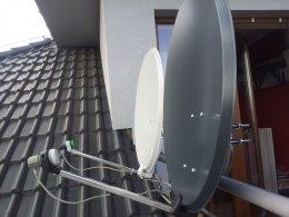 Montaż i ustawianie anten satelitarnych i dvbt Poznań Swarzędz okolice