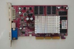 Karta graficzna FX5200 AGP8X 128MB TV-OUT DVI - niesprawdzana