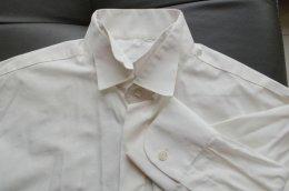 Koszula męska pod muchę, NewMen, roz. 39-170/176, kość słoniowa