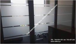 Folie okienne Łódź- Oklejanie szyb- Folie do dekoracji okien,drzwi,ścianek działowych Folkos Folie