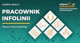 Pracownik infolinii - praca stacjonarna dla osoby z orzeczeniem o niepełnosprawności w Przemyślu