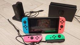 Nintendo Switch 18gier super zestaw.