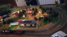 Kolejka Makieta kolejowa