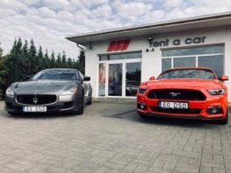 WYPOŻYCZALNIA samochodów WYNAJEM aut Porsche Maserati Mustang AMG