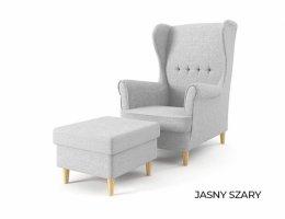 Fotel USZAK z podnóżkiem - od producenta - DOSTAWA GRATIS - promocja