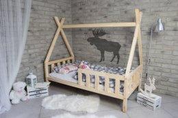 Łóżko domek drewniany TIPI