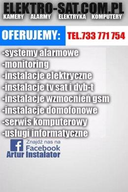 Instalacje elektryczne, alarmowe, TV sat, monitoring Goleniów