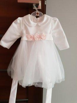 Sprzedam Sukienkę do Chrztu 62-68