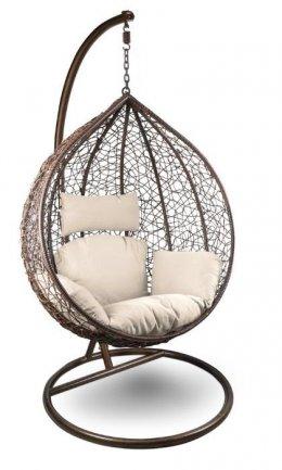 Fotel wiszący ogrodowy kosz huśtawka SOLO XL