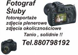Fotograf - śluby