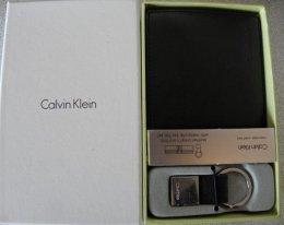 Portfel Calvin Klein kieszeń na monety + brelok