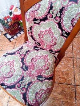 Krzesła do salonu bukowe stylowe...