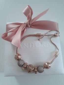 PANDORA rose gold warta 2200zl!