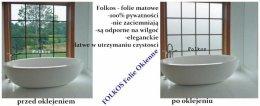 Folie na okna łazienkowe -drzwi-witryny-przeszklenia biurowe Warszawa