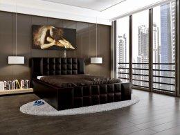 Łóżko tapicerowane Kevin 180x200 160x200