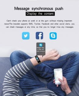 Smartband + słuchawka bluetooth