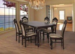 Tanio stół stoły krzesła krzesło 6 krzeseł+stół Ławy i Stoły na Wymiar