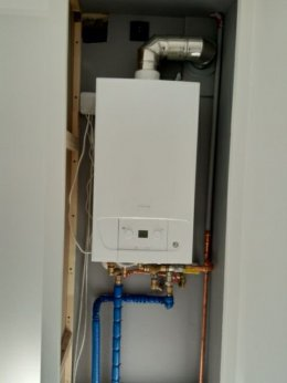Instalacje gazowe i hydrauliczne.Wymiana piecy CO