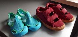 3 pary - Buciki dziecięce Nike + Diesel + glany Geox