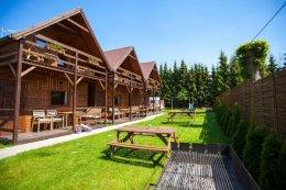 Domki drewniane Dominika Rewal 50 metrów od morza