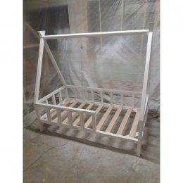TIPI białe 140 X 80 CM łóżko skandynawskie łóżeczko hand made