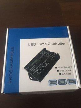 Kontroler, sterownik programowalny USB LED, TC420, PWM, 5 kanałów