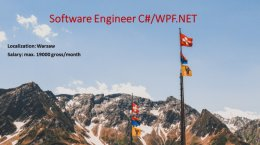 Software Engineer C#/WPF .NET