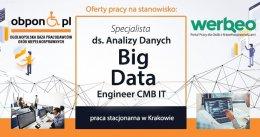 Specjalista ds. Analizy Danych praca stacjonarna w Krakowie