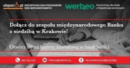 Analityk Biznesowy osoba z orzeczeniem praca stacjonarna w Krakowie