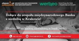 Kontroler ds. produktów finansowych praca stacjonarna w Krakowie