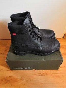 "Timberland 6"" trapery męskie premium boot czarne 46"