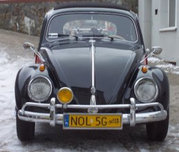 VW Garbus 1959 rok