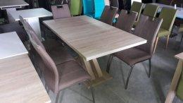 Ostatni Komplet stół +krzesła,fotel