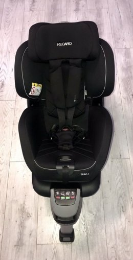 Fotelik samochodowy Recaro Zero.1 i-Size Perfomance (black) 0-18 kg