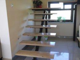 Schody, konstrukcje stalowe, schody metalowe