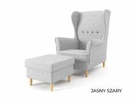 Fotel USZAK z podnóżkiem - od producenta - DOSTAWA GRATIS tanie.to