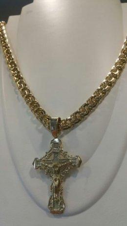 Łańcuszek złoty Galibaltka 585
