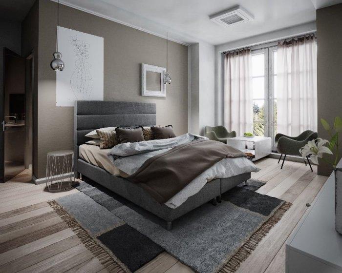 łóżko Hotelowe Hugo 160x200 Materac Tapicerowane Producent